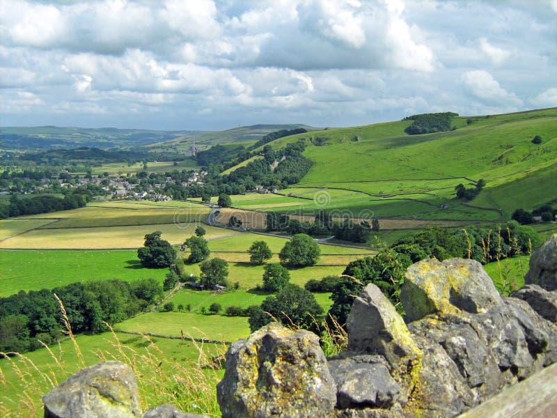 Το Derbyshire κατεβάζει στοκ εικόνες