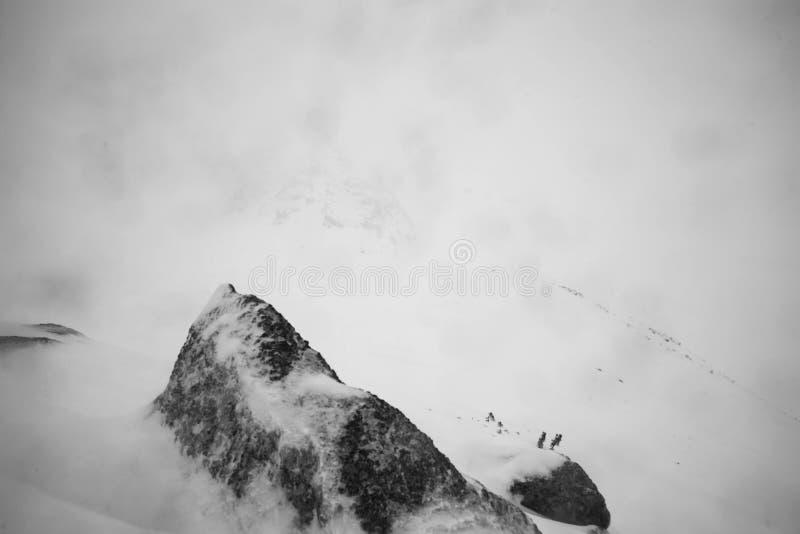 Η φύση των υψηλών βουνών στοκ εικόνα
