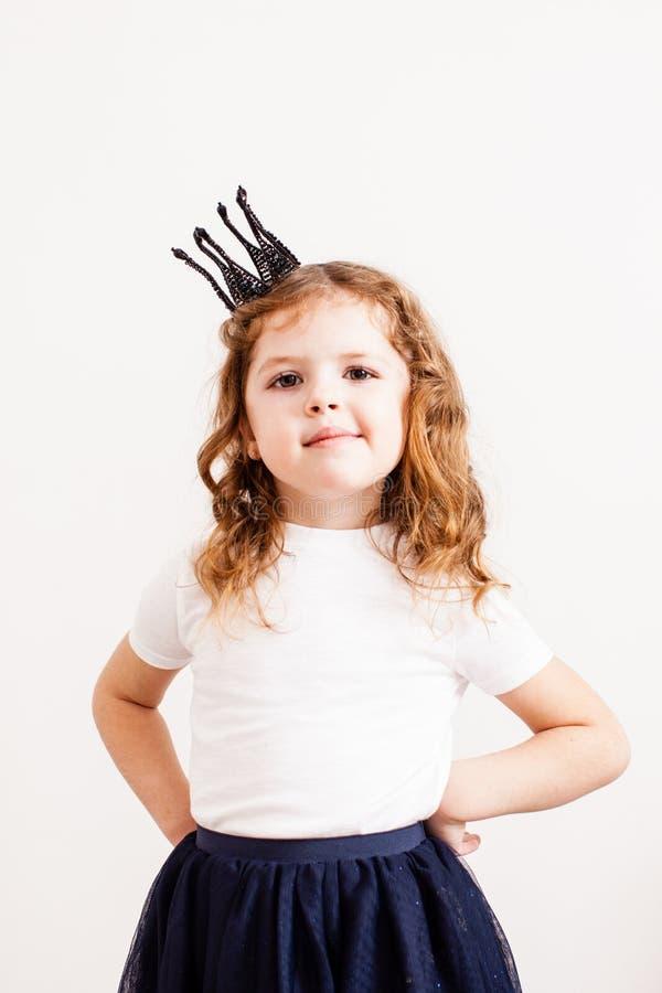 Η χαριτωμένη μικρή πριγκήπισσα στοκ εικόνες με δικαίωμα ελεύθερης χρήσης