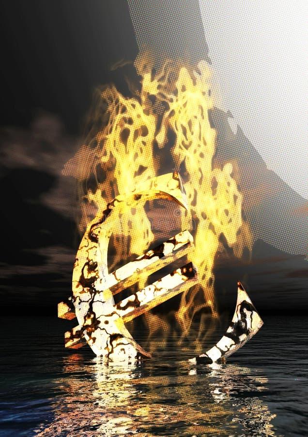Η ψηφιακή απεικόνιση του Bull και αντέχει διανυσματική απεικόνιση