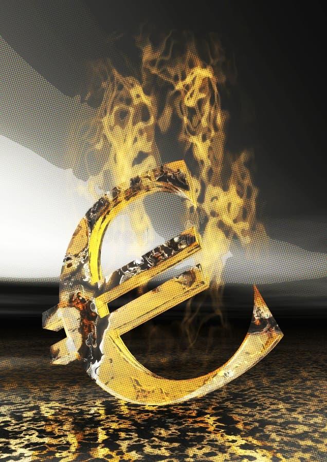 Η ψηφιακή απεικόνιση του Bull και αντέχει ελεύθερη απεικόνιση δικαιώματος