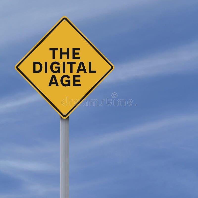 Η ψηφιακή εποχή στοκ φωτογραφία με δικαίωμα ελεύθερης χρήσης