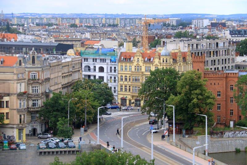 Η όμορφη πόλη Wroclaw, Πολωνία στοκ φωτογραφία με δικαίωμα ελεύθερης χρήσης