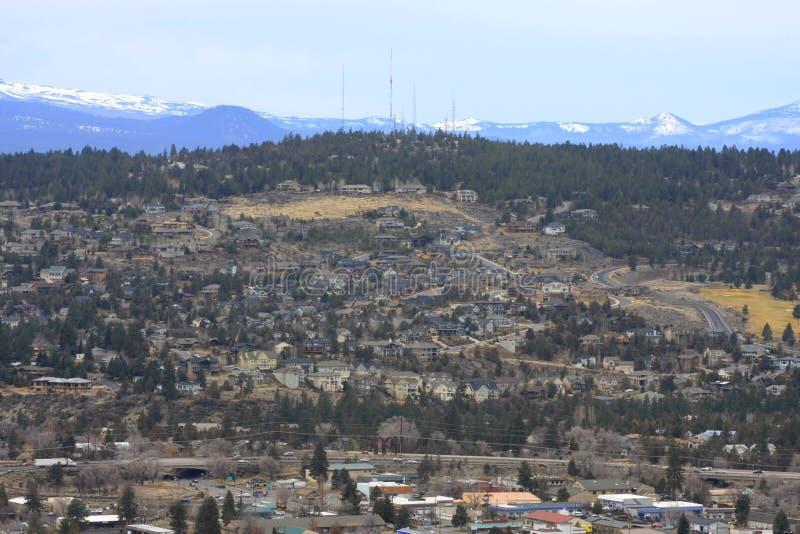 Η όψη από τον πειραματικό λόφο στοκ φωτογραφία με δικαίωμα ελεύθερης χρήσης