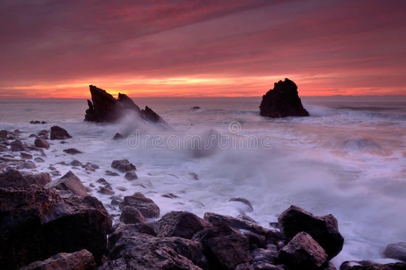 Η δύναμη της θάλασσας στοκ εικόνα με δικαίωμα ελεύθερης χρήσης