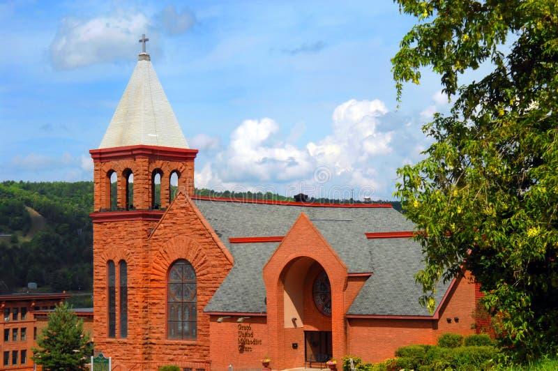 Η Grace ένωσε τη μεθοδιστή εκκλησία στοκ φωτογραφία με δικαίωμα ελεύθερης χρήσης
