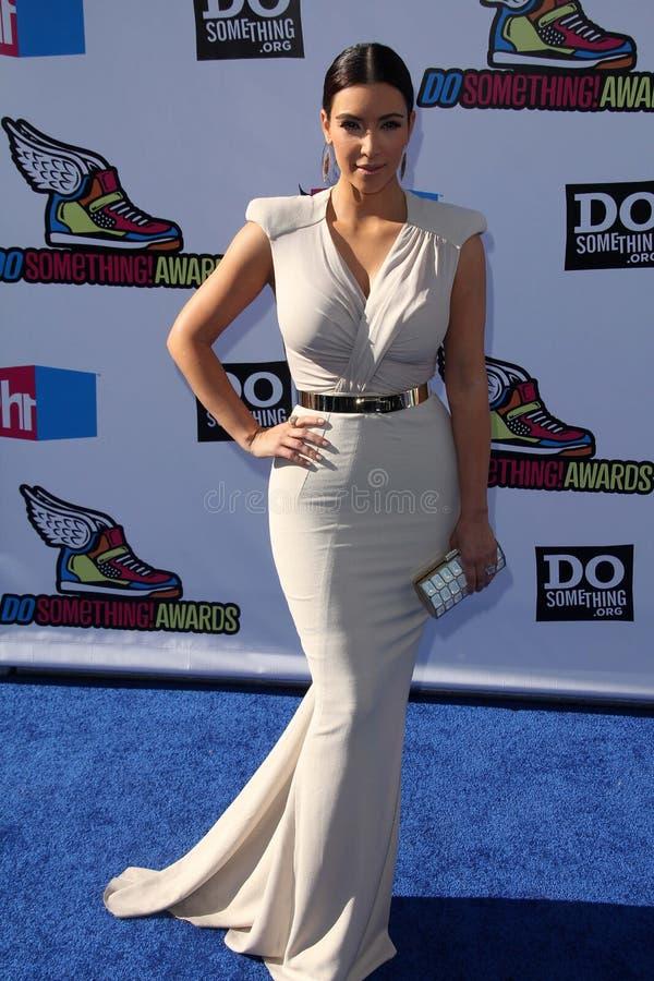 Kim Kardashian στοκ φωτογραφία με δικαίωμα ελεύθερης χρήσης