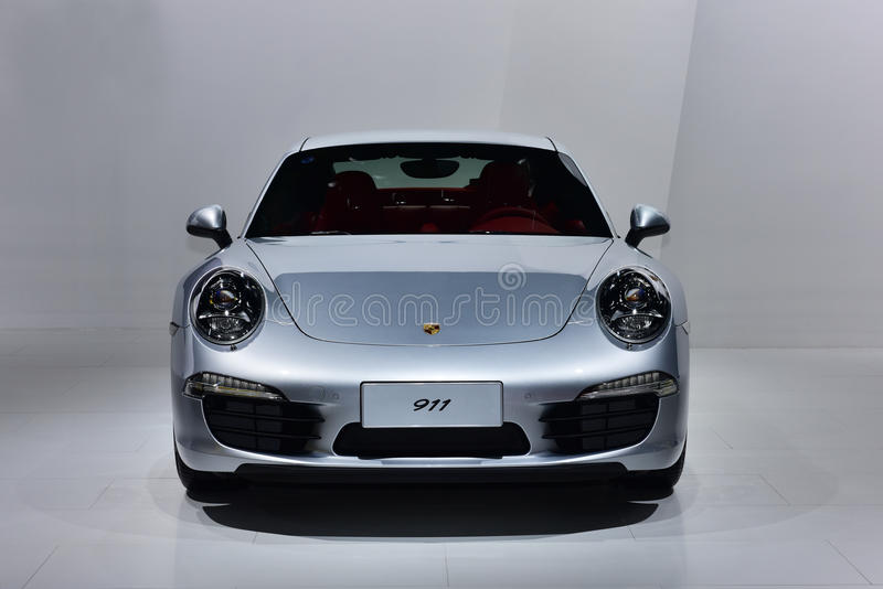 Η Porsche 911 αυτοκίνητο στοκ εικόνες με δικαίωμα ελεύθερης χρήσης