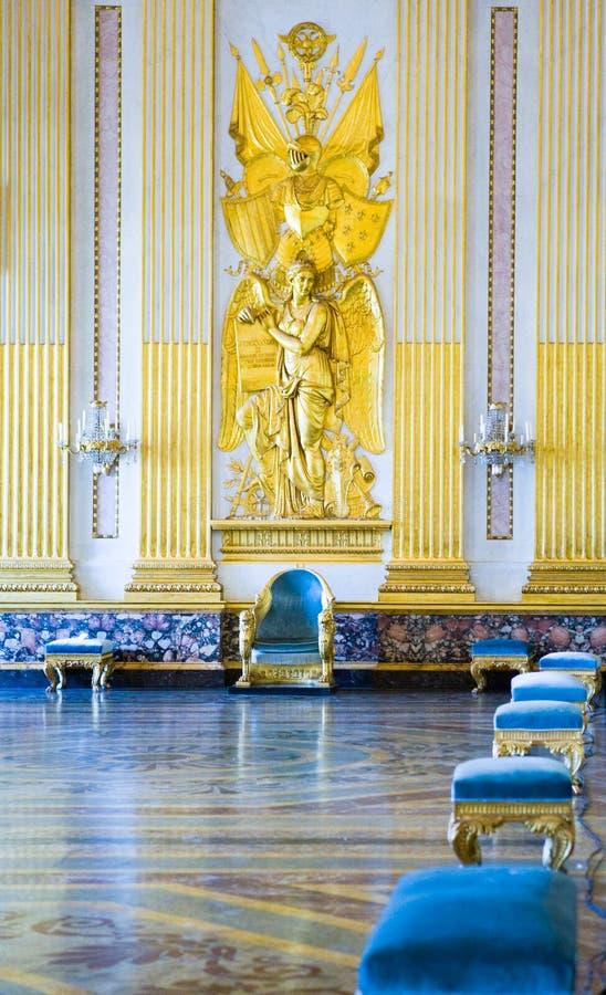 Η Royal Palace Caserta στοκ φωτογραφία με δικαίωμα ελεύθερης χρήσης