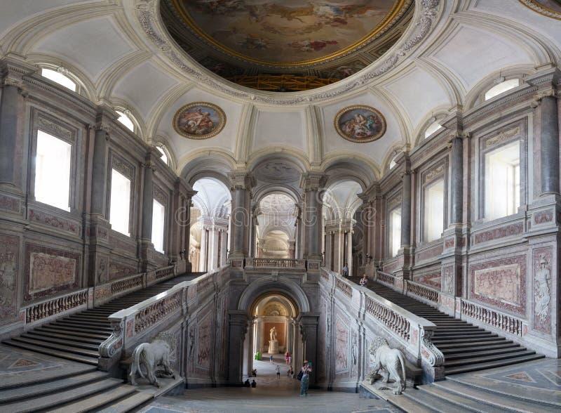Η Royal Palace Caserta, Iitaly στοκ εικόνες