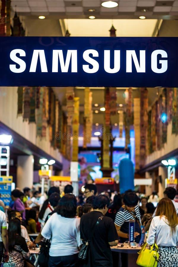 Η Samsung ενώνει την έκθεση στη Μπανγκόκ στοκ εικόνες