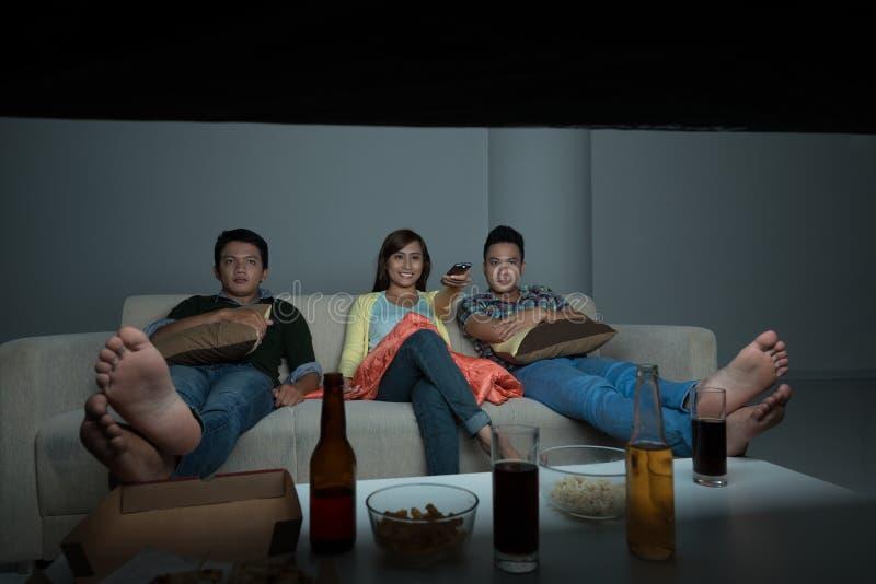 Η TV παρουσιάζει στοκ φωτογραφία με δικαίωμα ελεύθερης χρήσης