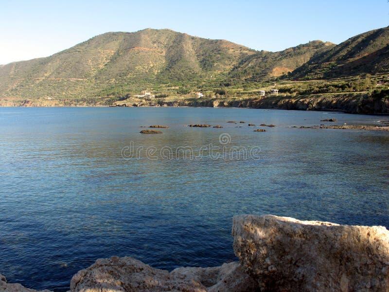 θάλασσα βουνών στοκ εικόνες