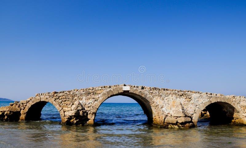 θάλασσα γεφυρών υπερφυ&si στοκ φωτογραφία με δικαίωμα ελεύθερης χρήσης