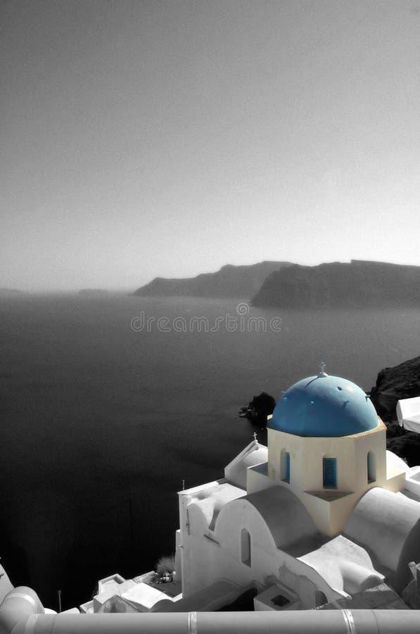 θάλασσα εκκλησιών Στοκ εικόνα με δικαίωμα ελεύθερης χρήσης