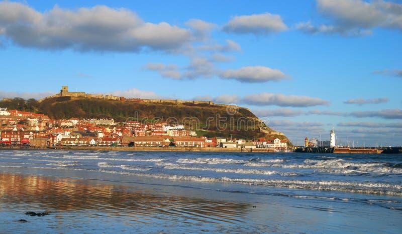 θάλασσα θερέτρου scarborough στοκ φωτογραφίες με δικαίωμα ελεύθερης χρήσης