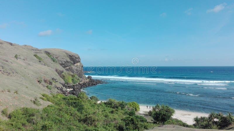 Θάλασσα και λόφοι στοκ φωτογραφία