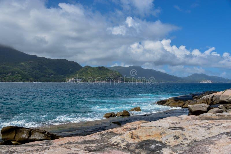 Θάλασσα και ουρανός των Σεϋχελλών στοκ φωτογραφίες με δικαίωμα ελεύθερης χρήσης