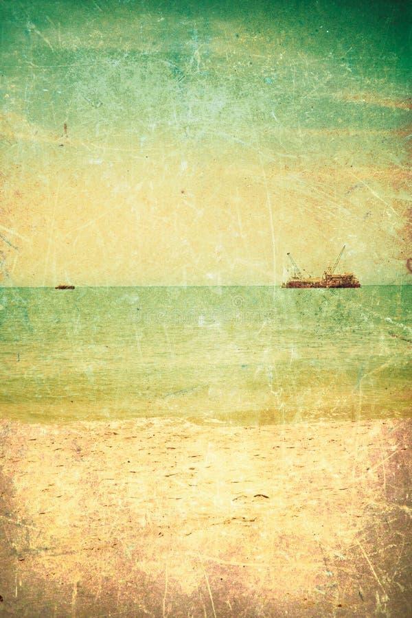 θάλασσα κατασκευασμέν&eta στοκ εικόνα