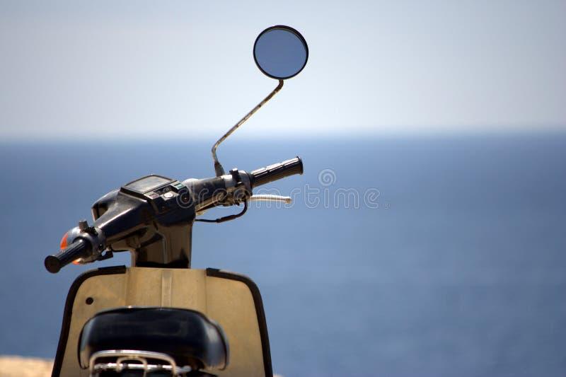θάλασσα μοτοσικλετών στοκ εικόνες