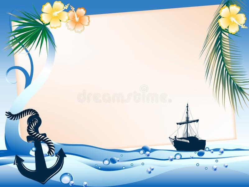 θάλασσα πλαισίων απεικόνιση αποθεμάτων