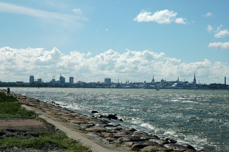 θάλασσα πόλεων στοκ εικόνες με δικαίωμα ελεύθερης χρήσης