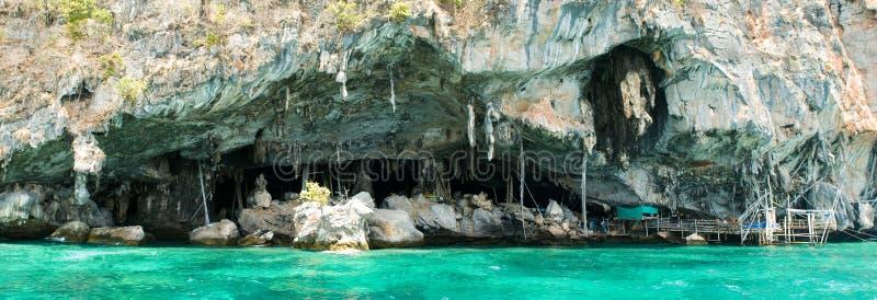 θάλασσα σπηλιών στοκ εικόνα