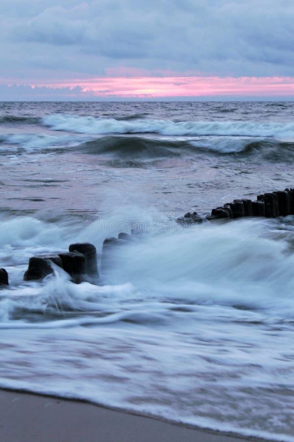 θάλασσα στιλβωτικής ουσίας στοκ φωτογραφία