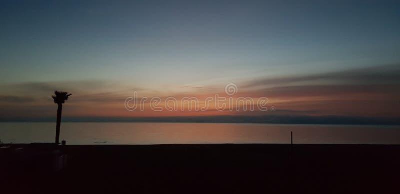 Θάλασσα στον πρώτο στοκ εικόνες με δικαίωμα ελεύθερης χρήσης