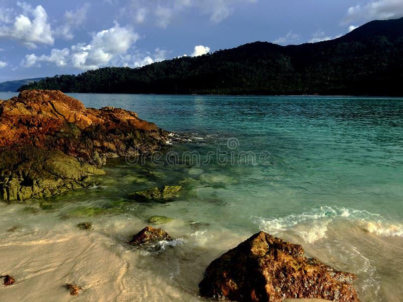 Θάλασσα στο lipe στοκ εικόνα με δικαίωμα ελεύθερης χρήσης