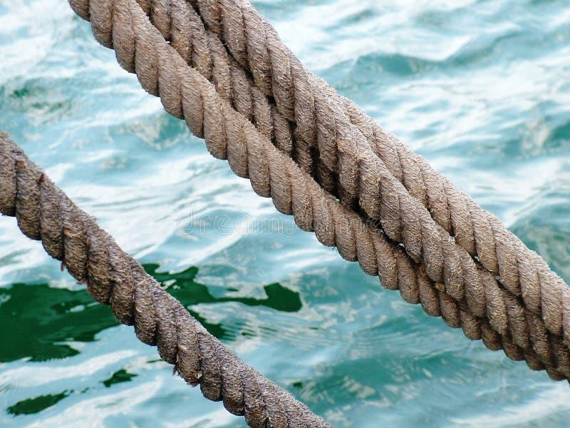 θάλασσα σχοινιών στοκ φωτογραφία με δικαίωμα ελεύθερης χρήσης