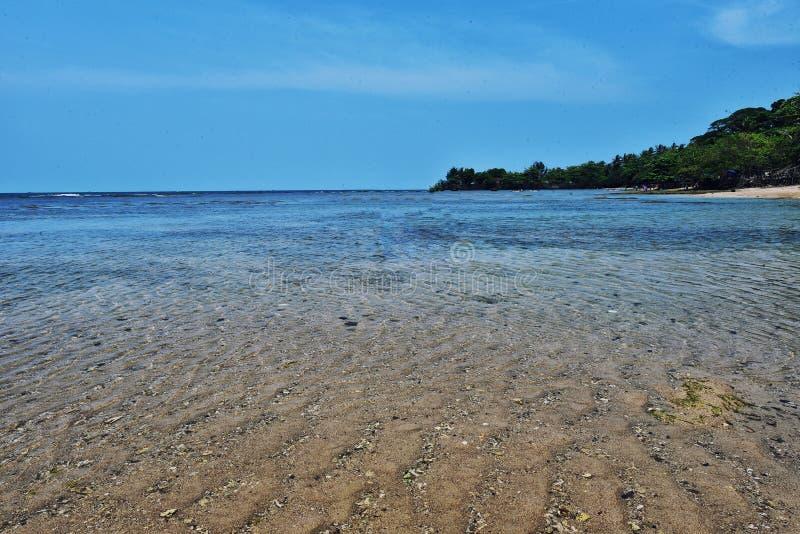 Θάλασσα Τζακάρτα Anyer στοκ φωτογραφίες