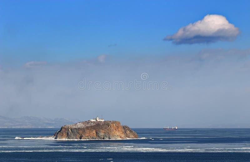 Θάλασσα της Ιαπωνίας το χειμώνα 9 στοκ φωτογραφίες με δικαίωμα ελεύθερης χρήσης
