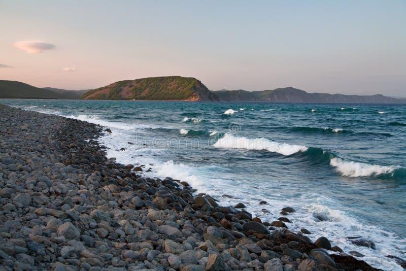 Θάλασσα της Ιαπωνίας στοκ φωτογραφίες με δικαίωμα ελεύθερης χρήσης