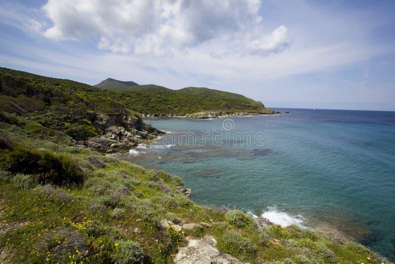 θάλασσα της Κορσικής στοκ εικόνα με δικαίωμα ελεύθερης χρήσης