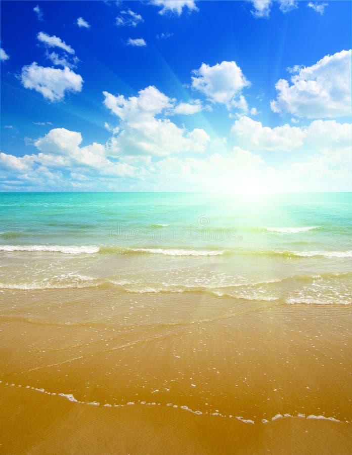 θάλασσα τροπική στοκ φωτογραφία