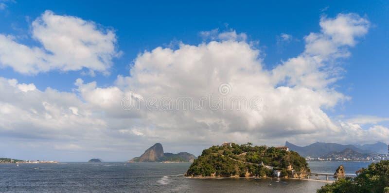 Θάλασσα Boa της παραλίας Viagem στοκ φωτογραφίες με δικαίωμα ελεύθερης χρήσης