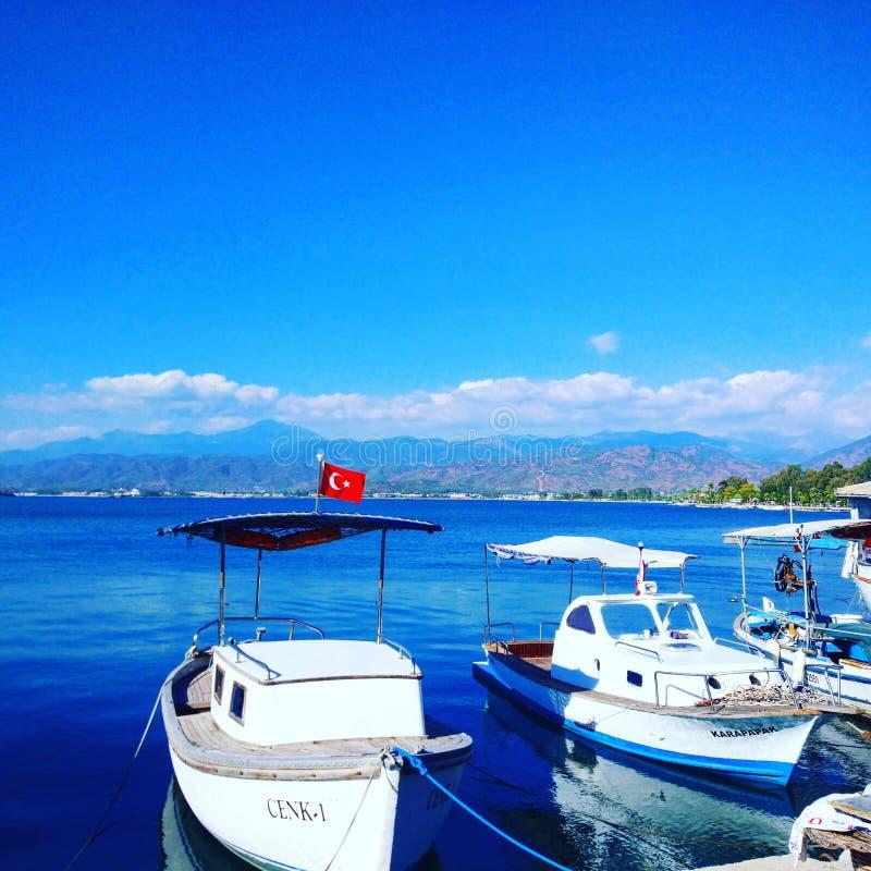 Θάλασσα Fethiye στοκ φωτογραφία με δικαίωμα ελεύθερης χρήσης