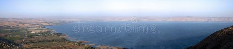 θάλασσα galilee στοκ φωτογραφίες
