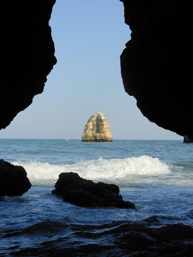 θάλασσα grotto στοκ εικόνα με δικαίωμα ελεύθερης χρήσης
