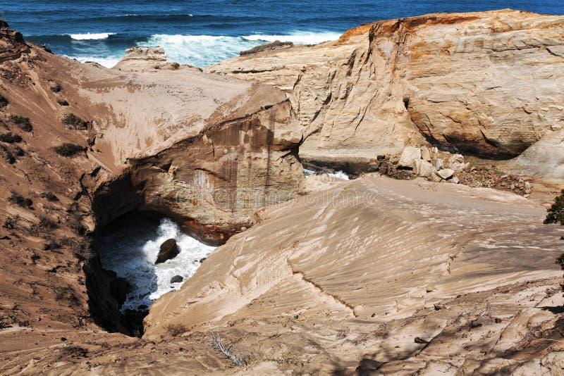 θάλασσα kiwanda κολπίσκων απότ&omic στοκ φωτογραφίες με δικαίωμα ελεύθερης χρήσης