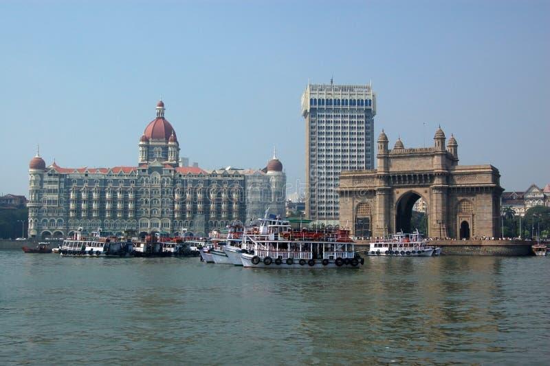 θάλασσα mumbai colaba στοκ εικόνες