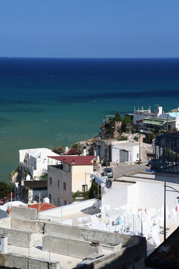 θάλασσα peschici τοπίων στοκ φωτογραφίες με δικαίωμα ελεύθερης χρήσης
