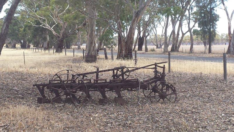 Θάμνος αγροτικών μηχανημάτων στοκ εικόνες