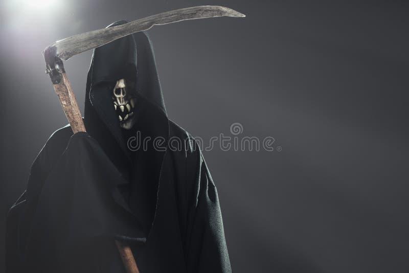 Θάνατος με το δρεπάνι στοκ φωτογραφία με δικαίωμα ελεύθερης χρήσης
