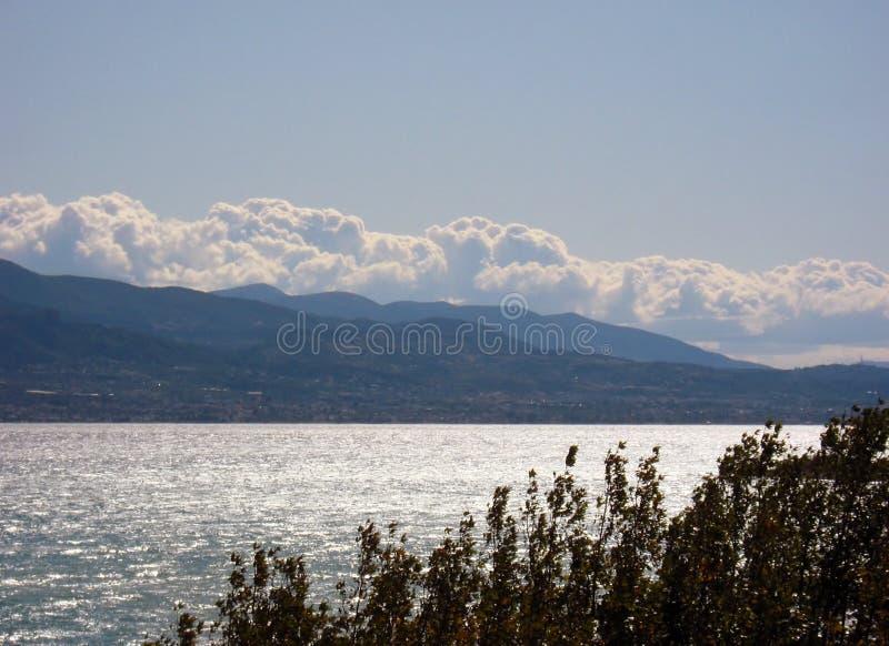 Download Θάλασσα και βουνό δέντρων στοκ εικόνες. εικόνα από softwood - 70159000