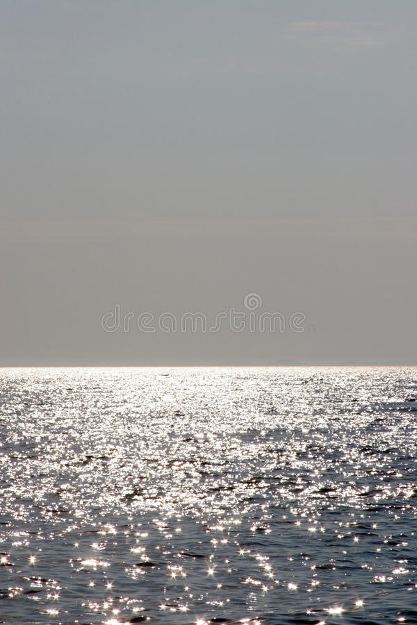 Θάλασσα και ορίζοντας στοκ εικόνες με δικαίωμα ελεύθερης χρήσης