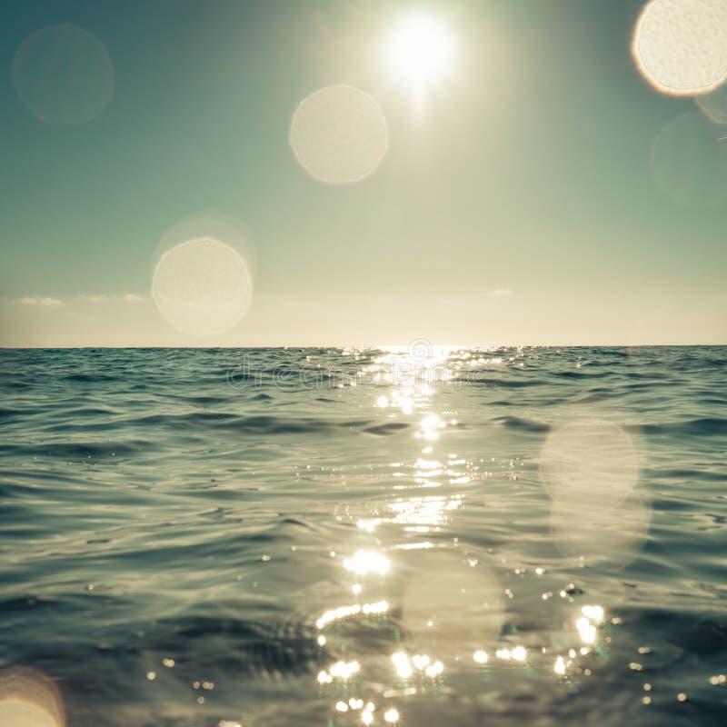 Θάλασσα και ουρανός στοκ εικόνες