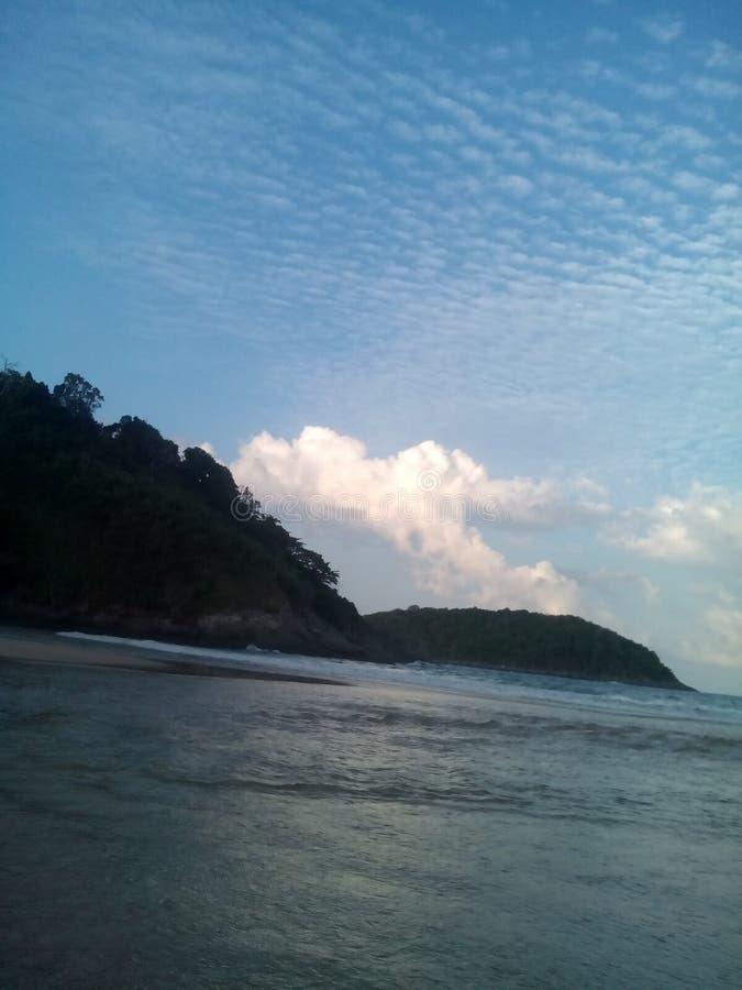Θάλασσα ουρανού στοκ φωτογραφίες με δικαίωμα ελεύθερης χρήσης