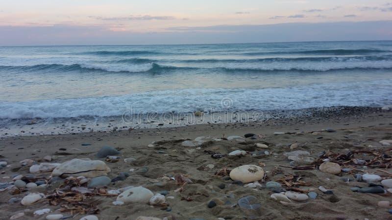 Θάλασσα πρωινού στοκ φωτογραφίες με δικαίωμα ελεύθερης χρήσης